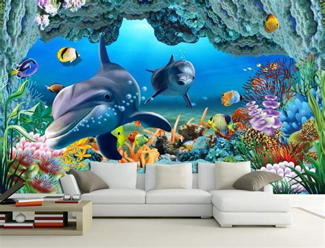 wall mural cheap get cheap underwater wall murals aliexpress alibaba