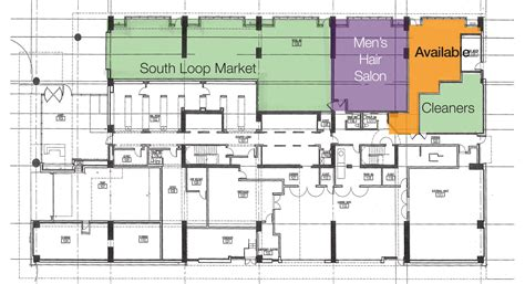 235 w van buren floor plans retail space available in chicago s financial district
