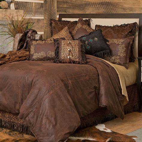 gold rush western comforter sets cabin place