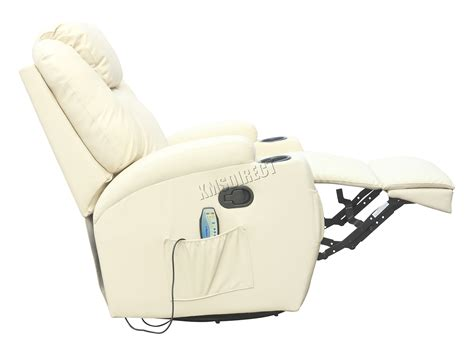 rocking recliner massage chair foxhunter bonded leather sofa massage recliner chair