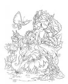 beautiful coloring pages adults fairy pictures colour gianfreda net