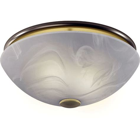 Nutone 773bnnt Brushed Nickel 80 Cfm 2 Sone Ceiling Nutone Bathroom Fan Light