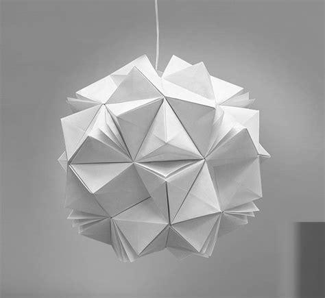 Origami For Designers - diy lighting with original origami design by jiangmei wu