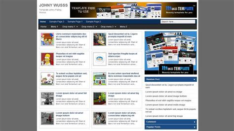 free blogger templates download template seo johny wusss