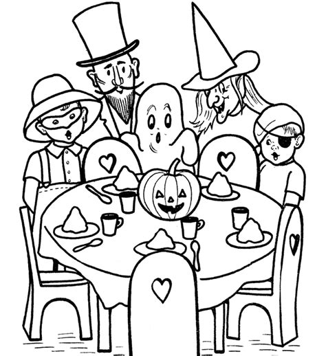 halloween coloring pages pdf free halloween coloring pages for kids az coloring pages