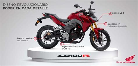 onda cvr honda cb 190 r honda motos colombia