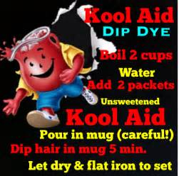 how to color your hair with kool aid how to create cool hair color effects step by step apps