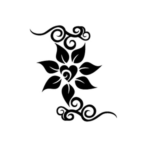 flower pattern black and white clipart design clipart black and white pencil and in color