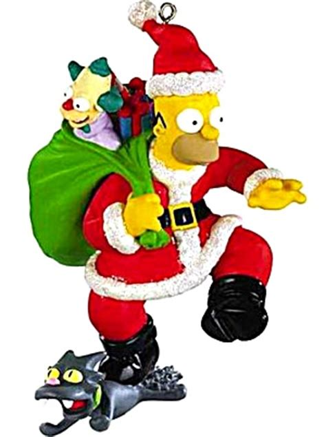 simpsons christmas ornaments my blog