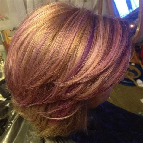 can you have purple highlights for a 60 year woman 22 sassy purple highlighted hairstyles for short medium