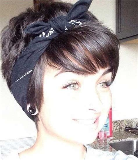 bandana with bob cut 25 best ideas about short haircuts with bangs on