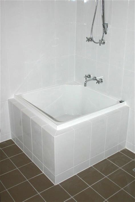 Small Bathtubs With Shower | small bathroom photo gallery brisbane prominade