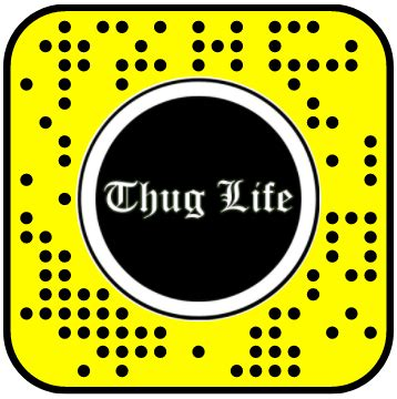 thug life freeze frame snapchat lens – the 11th second: #1