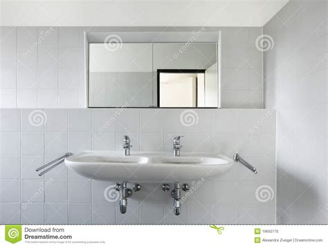bathroom sink with mirror view of bathroom sink and mirror stock photo image 19650770