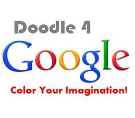 Doodle 4 India Contest 2017 Application Topic