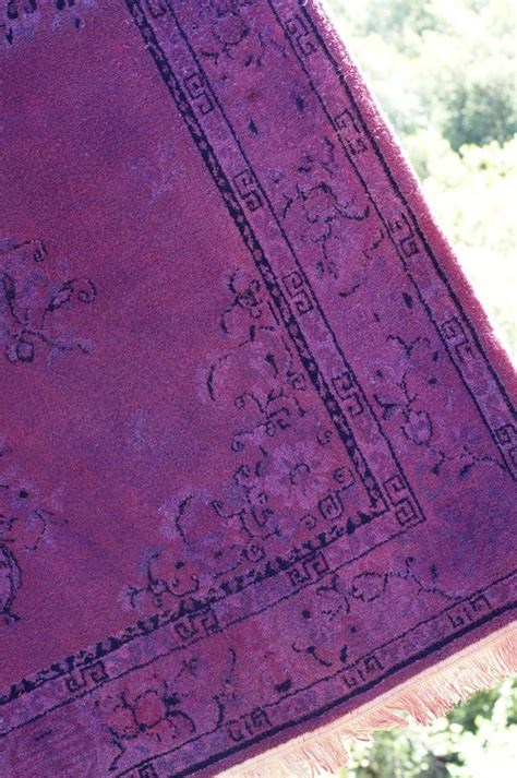 diy overdyed rug another great diy rug dyeing tutorial that unfurnished apartment