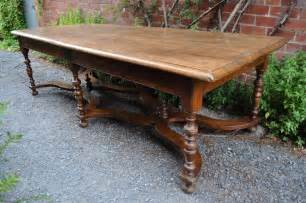 antique style oak dining table timeless interior