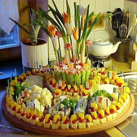 kaltes buffet anrichten partyrezepte kaltes buffet 18 geburtstag gesundes essen