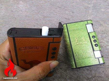 Kotak Rokok 8pcs Dengan Korek Elektrik kotak rokok jingdian korek lapak korek