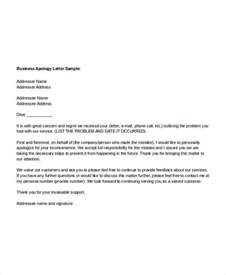 Formal Letter Format Of Apology Sle Apology Letter Templates 13 Free Word Pdf