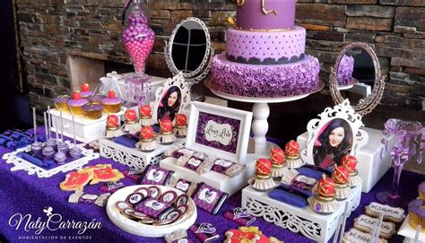 125 best disney descendants birthday party theme ideas and descendants maleficent s daugther birthday party ideas