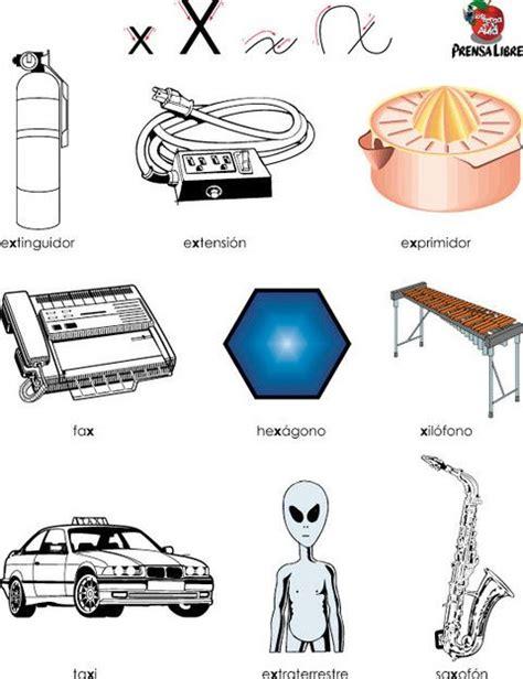 imagenes y palabras con la letra x letra x palabras que tienen la x letra x min 250 scula x