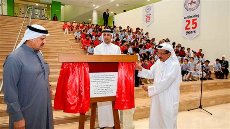 emirates international school emirates international school jumeirah officially opens