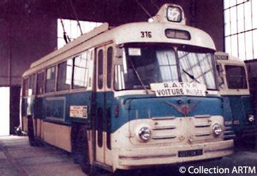 Désherbant Total Puissant 2454 by Les Trolleybus Association Artm Les Amis Du Rail Et