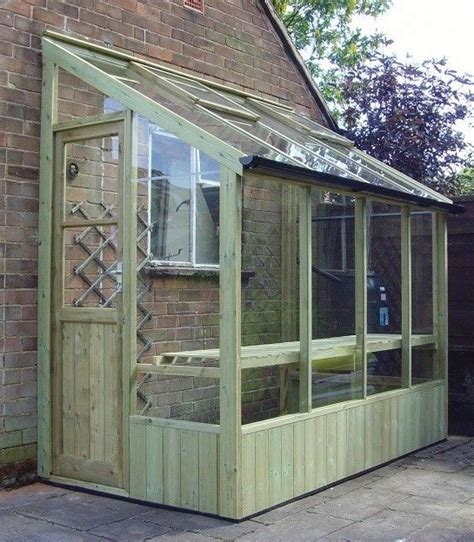 Shed With Greenhouse Attached by Lean To Greenhouse Garden And Yard