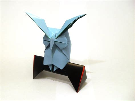Owl Origami - origami horned owl by orestigami on deviantart