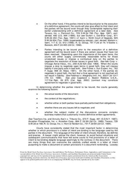 Letter Of Intent Sle Acquisition Letter Of Intent Stock Purchase Agreement Terms Of Employment Act Uk Letter Intent Stock