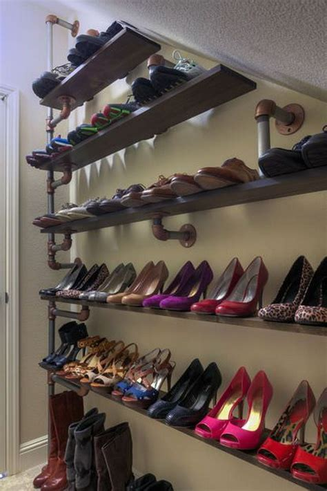 understairs shoe storage creative the stair storage ideas noted list