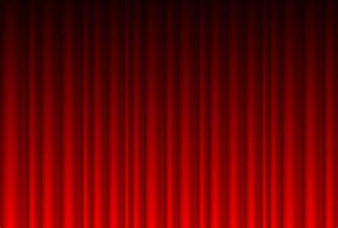 red curtain background realistic red curtain background vector download