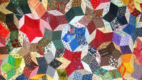 copriletti patchwork dalani coperta patchwork geometrie in tessuto