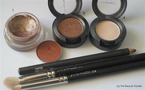 Eyeshadow Bronze bronze smokey eye tutorial the foodie