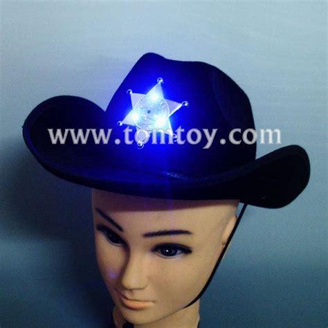 light up cowboy hat novelties light up men s cowboy hat tomtoy