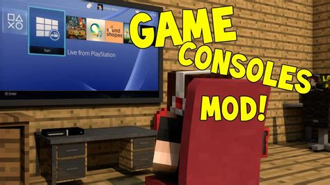 game mod in minecraft minecraft mods game consoles mod computers xbox ps4