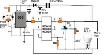sind led len dimmbar dimmer circuit for led bulbs