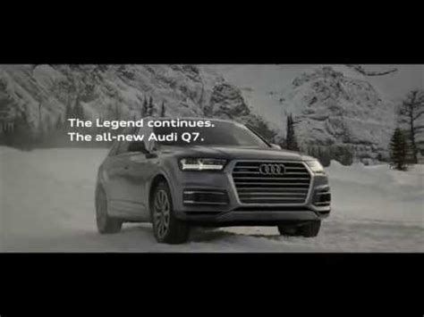 Audi Q7 Ad by 2016 Audi Q7 Commercial Yeti