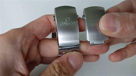 Omega seamaster micro adjustment clasp   YouTube