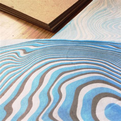 Where Was Paper Marbling Invented - blue coptic journal with marbled covers zebra