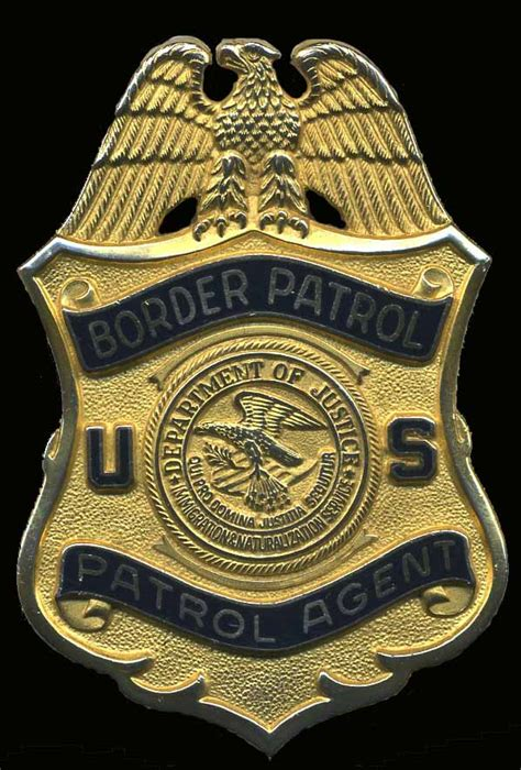 border patrol badge logo u s border patrol again g r davis