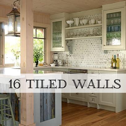 kitchen tiled walls ideas trend alert tiled walls