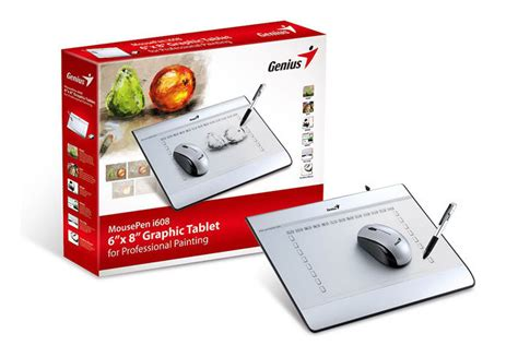 Mouse Pen I608 genius i608 mousepen 6 quot x8 quot graphic tablet at mighty ape nz