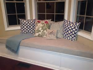 Bay Window Seat Cushions Custom Trapezoid Bay Window Seat Cushion With Cording