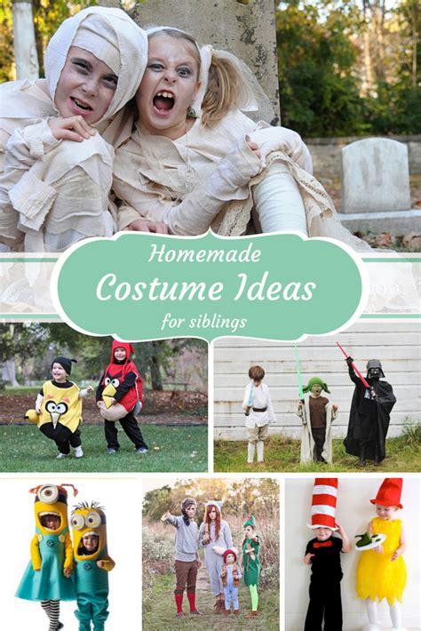 handmade halloween costume ideas  siblings design dazzle
