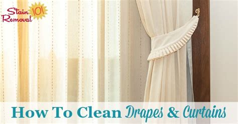 how to wash curtains how to clean dry only curtains at home curtain