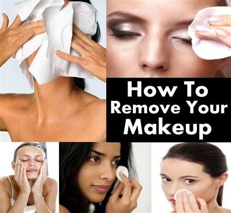 how to remove your makeup diy home things