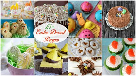 15 adorable easter desserts you will love