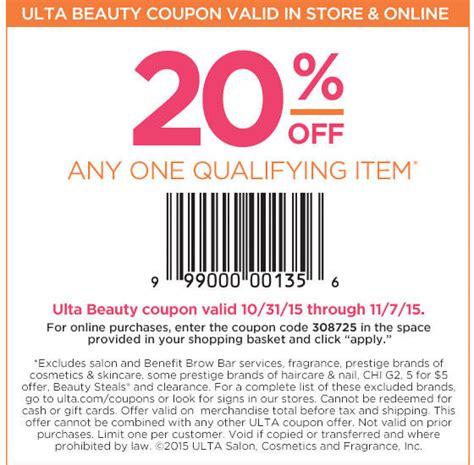 ulta printable coupon 5 off 10 2015 ulta coupons a few bucks off 10 at ulta or online via